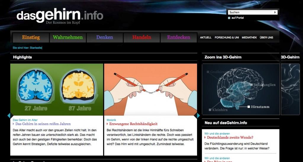 dasGehirn.info website